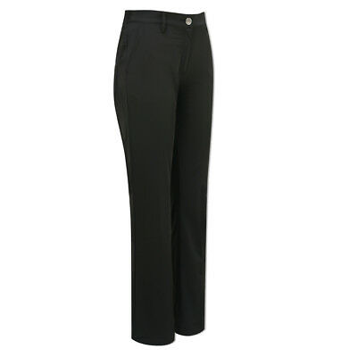 Green Lamb Windproof Trousers with Soft Fleece-Lining in Black