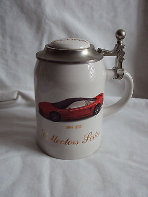 Vintage 1994 Acura Nsx Collectors Series Ltd Ed/500 Ceramic Pewter Stein