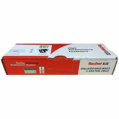 FISCHER 16G Stainless Steel STRAIGHT Brads Nails For Paslode IM65 Nailers + GAS
