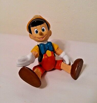 """6"""" Vintage Disney Pinocchio Poseable Jointed Doll"""