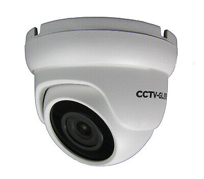 5MP TVI AHD HD CCTV SURVEILLANCE WHITE DOME CAMERA SONY CMOS 3.6mm LENS 20m IR