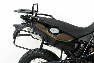BMW F650GS Twin Luggage Carrier Pannier Rack Lock It Black F 650 GS TWIN