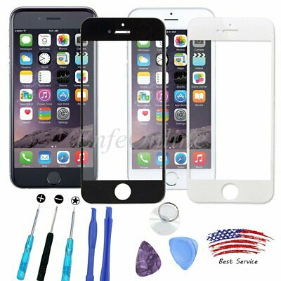 Outer Screen Glass Replacement Lens Repair Tool Kit For Apple iPhone 6 6S 7 Plus