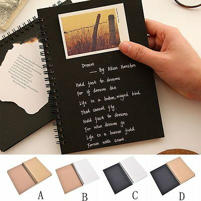 Drawing Lettering Supplies Kraft Paper Crafts Art Paper Sketchbook Notebook