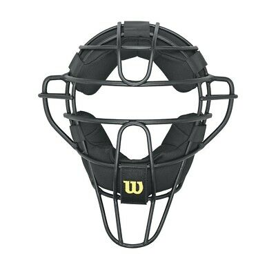 Wilson Dyna-Lite Aluminium Umpire Mask with Memory Foam Pads. Free Delivery