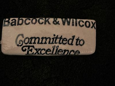 Babcock & Wilcox golf crying towel authentic unused in original wrapper