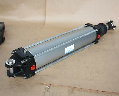 SMC CYLINDER 100mm bore 440mm long stroke pneumatic air ram CA1DN100-440YJ - NEW