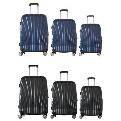 3pc Luggage/Suitcase Cabin/Medium/Large Travel/Hardshell Made from Polycarbonate