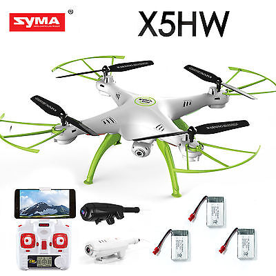 Syma X5HW FPV Hover Function 4CH RC Quadcopter Camera Drone with HD Wifi Camera