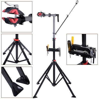 """Pro Bike 41""""To 75""""Repair Stand Adjustable W/Telescopic Arm Bicycle Cycle Rack"""