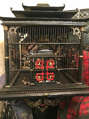 Mid 20th Century Chinese (Asian) Bird Cage