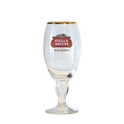 Stella Artois Chalice Beer Glass Heavy Duty Glasses Lady Collection Gift Classic