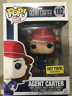 Pop Vinyl - Agent Carter Hot Topic Exclusive