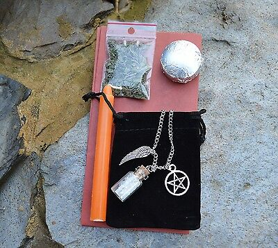 Protection Spell. Powerful Protection. Wicca Witchcraft Spell Kit.