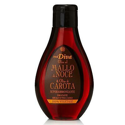 Red Diva Olio Mallo Di Noce E Carota Superabbronzante - 100Ml