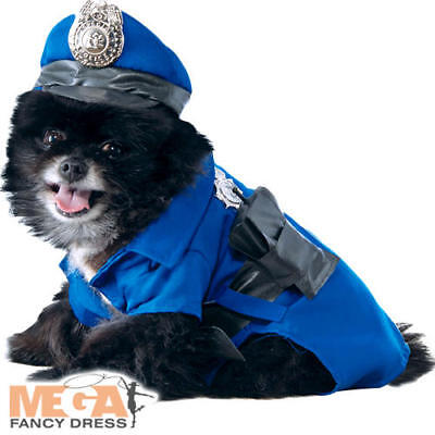 Police Pet Dogs Fancy Dress Officer Cop Unicorm Animal Puppy Pet Costume Outfit