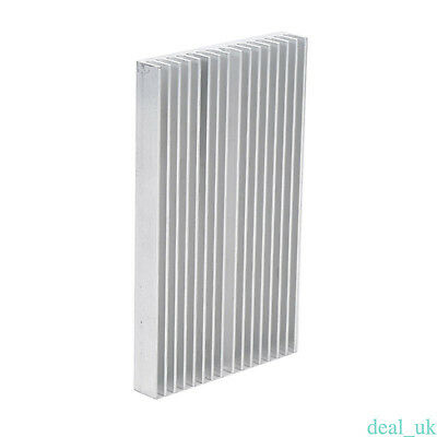 1 Pcs 100mm x 60mm x 10mm Aluminum Heatsink for LED Power Transistor New
