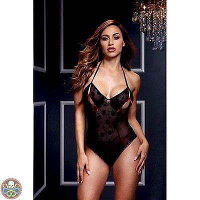 Baci Lingerie Body Bow Rosso Nuovo