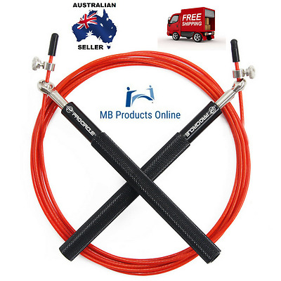 Crossfit Jump Rope Ultra-speed Ball Bearing Skipping Gym Fitness Free Bag