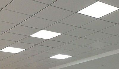 42W LED Ceiling Panel 600 x 600mm Cool White 5000k Office Shop 60x60 3100lm