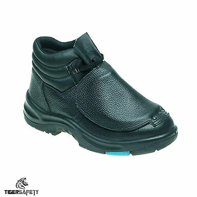 Himalayan 1002 S3 SRC Black Metatarsal Protector Steel Toe Cap Safety Boots PPE