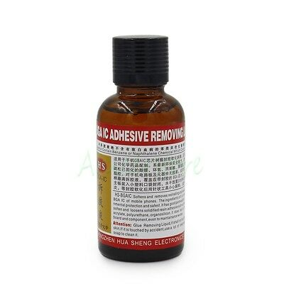 30ML BGA Chip IC Mobilephone PCB Repair Adhesive Glue Remove Removing Liquid