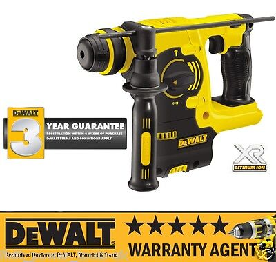 DeWALT DCH253N 18v Lithium-Ion SDS Cordless Hammer Drill Body Only NEW