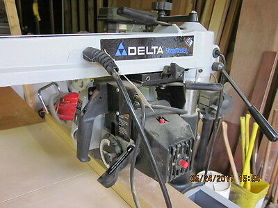 """Delta 10"""" Professional Radial Arm Saw RS830"""