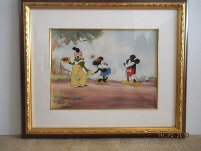 Disney Mickey's Rival featuring  Mickey, Minnie and Mortimer Cel