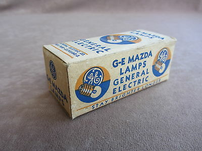GE Mazda Miniature Lamps No. 41 Radio Panel Dial Indicator Bulbs 2.5V Box of 10