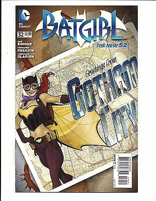 Batgirl # 32 (Dc New 52!  Bombshells Variant, Aug 2014), Nm New