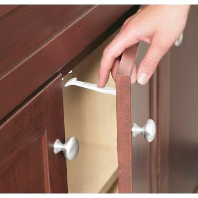 Grip Lock Latch Cabinet Baby Child Safety Proof Drawer Locks Latches 14 Pack