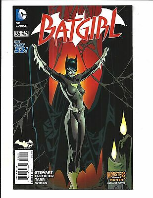BATGIRL # 35 (DC NEW 52!  MONSTERS of the MONTH VARIANT, DEC 2014), NM NEW