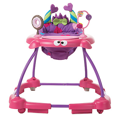 Cosco Simple Steps Interactive Baby Walker, Silly Sweet Tooth Monster, Shelley