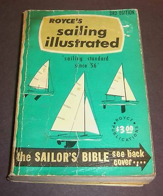 Royce's Sailing Illustrated Sail Boat Sailor's Guide Vintage Book