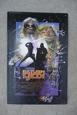 New  Star Wars  Return of the Jedi Metal  vintage look  Tin Sign