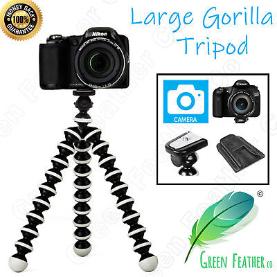 LARGE Flexible Gorilla Tripod | the Original Camera Kit | Canon Nikon Sony DSLR
