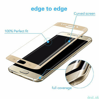 Protective Tempered Glass Screen Protector For Samsung Galaxy S7 S6 Edge Plus M0