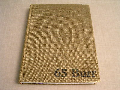 "1965 Kent State University Ohio ""Chestnut Burr"" College Yearbook Year Book Nice!"