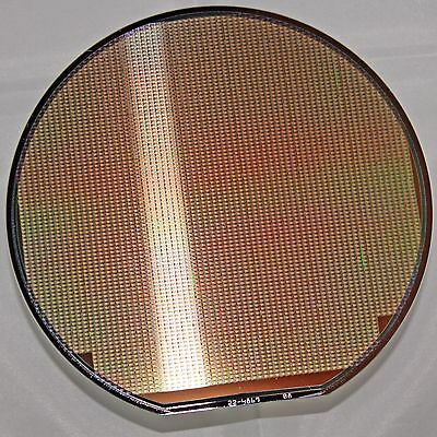 "6"" Silicon Wafer Dallas Semiconductor DS1820 1-wire temperature sensor"
