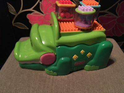 FISHER PRICE Peek A Blocks Stack And Smile Crocodile.