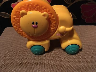 FISHER PRICE Baby Press N Crawl Lion.