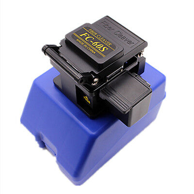 Black FC-6S Precision Cleaver Optical Fiber Electric Cutting Tools With Box