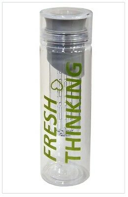 750ml Fruit Infusing Infuser Water Bottle BPA Free Plastic Sports Detox Health
