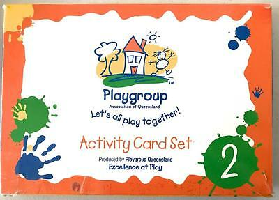Playgroup Let's All Play Together Activity Flash Cards Teacher Parent Resource 2