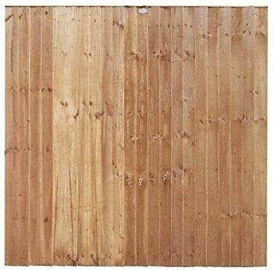 new feather edge fence panel omega top tanalised sizes 6x2. Black Bedroom Furniture Sets. Home Design Ideas