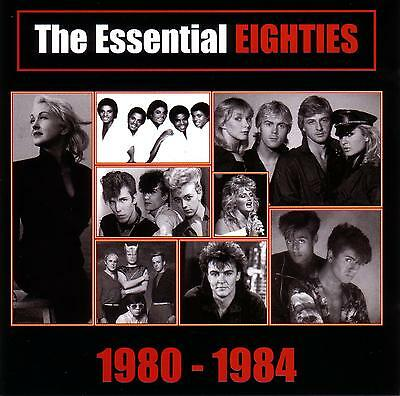 (80's) THE ESSENTIAL EIGHTIES 1980 to 1984 / VARIOUS ARTISTS - 2 CD SET