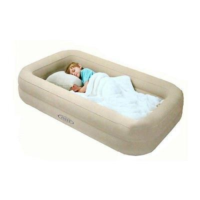 Kids Travel Bed Inflatable Portable Folding Toddler Air Mattress Child Spare Cot