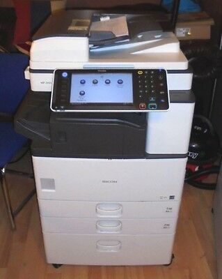 Ricoh MP2553 A4/A3 Black and White office Photocopier Printer & staple finisher