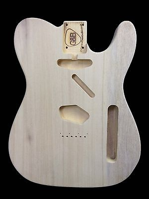 Guitar Body Telecaster / Obeche Tone-wood /1pc/1.75kg/003645